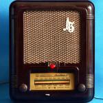 Радиоприёмник Москвич - 3 с рубином
